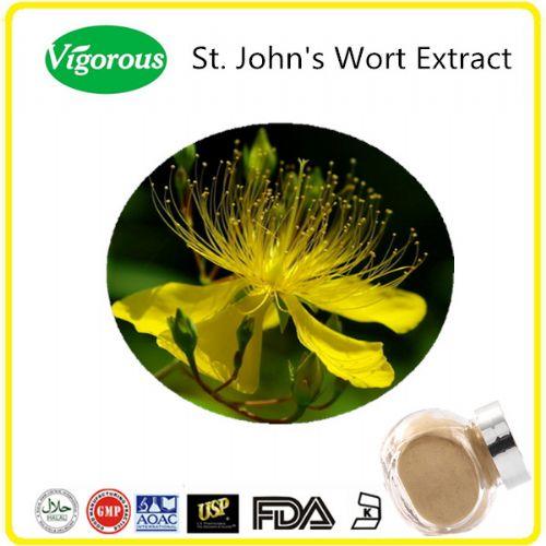 Natural 0.3%Hypericum 10:1 St. John's Wort Extract