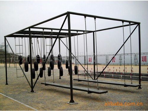 江帆轮胎攀台四百米渡海登岛拓展器械/