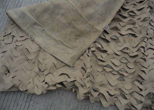 Anti-rot anti-aging lightweight mideast sand camouflage net
