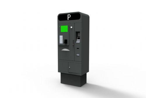 Intelligent auto parking ticket dispenser