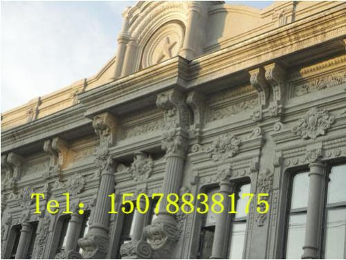 grc欧式构件,grc线条,grc装饰线条