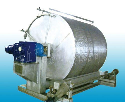 吸收国外的先进技术,结合我公司生产的淀粉真空转鼓过滤机的合理结构