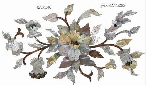 确实真实贝雕绚丽色彩,溶合欧式设计风格结合木纹拼花风格,形成  规格