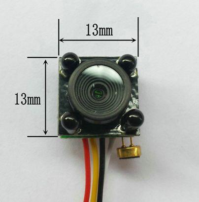 zrrt针孔微型航拍摄像头