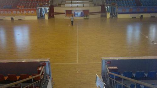 欧式地板篮球馆运动木地板厂家