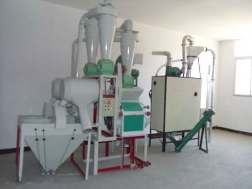Self-feeding automatic roller mill machine with best price