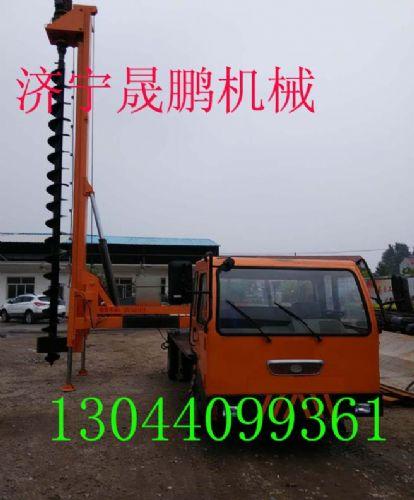 电线杆挖坑机基本结构