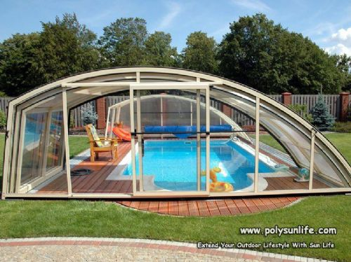 阳莱别墅酒店泳池 阳光房效果图 价格:900元/平方米