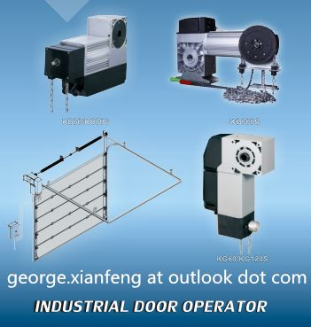 sectional industrial door operator/dooropener