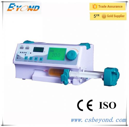 CE&ISO approved single channel syringe pump  in China