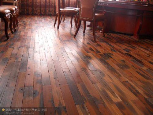 传家地板 船木地板 酒店地板 套房