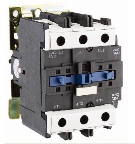 主要结构 交流接触器利用主接点来开闭电路, 用辅助接点来导通控制