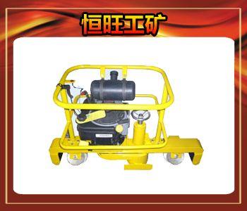 走行轮,导向轮均符合轨道电路的绝缘要求;采用厚壁杯形砂轮,砂轮进给