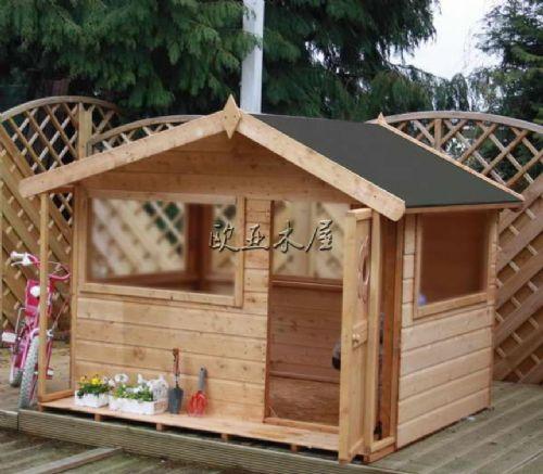 欧亚木屋儿童野外游玩小别墅/木房子