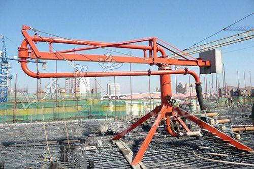 工程机械 混凝土搅拌机械 混凝土布料杆  报价:   电议 单位:  山东中图片