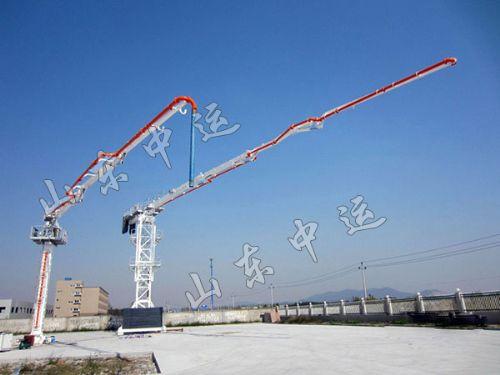 工程机械 混凝土搅拌机械 混凝土布料杆  报价:   电议 单位:  山东中