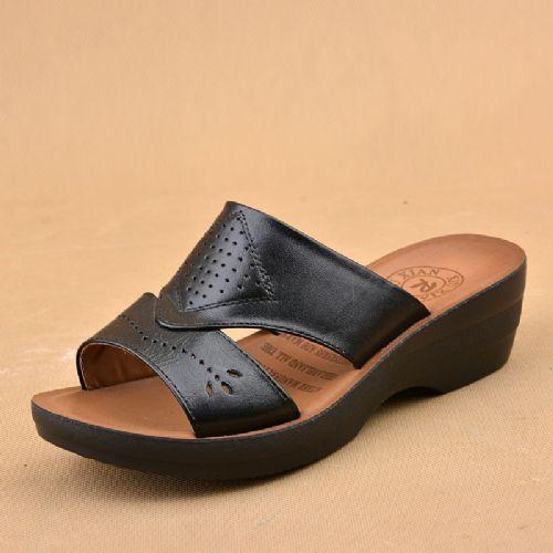 BUFANSHA真皮女凉鞋 价格:30元