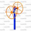 rotating wheel hk-3095z