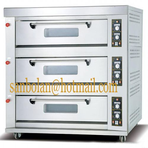 commercial electric/gas baking oven pizza oven
