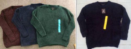 Ladies teddy fur stitch interest Jumpers/Sweaters