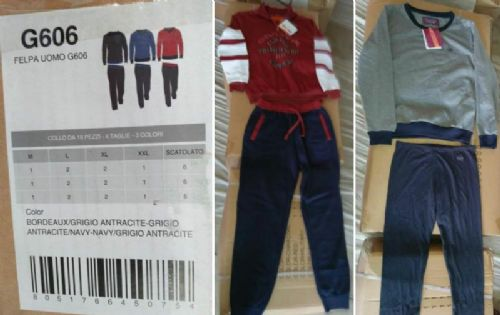 Men's knit jogging set