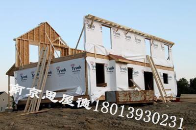 123轻型木结构别墅