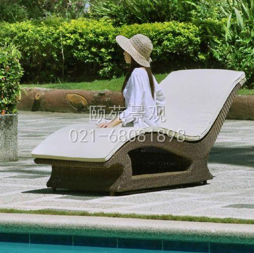 藤编躺椅 可以定做 价格电议