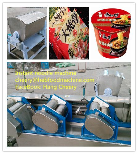 electric frying instant noodle making machine