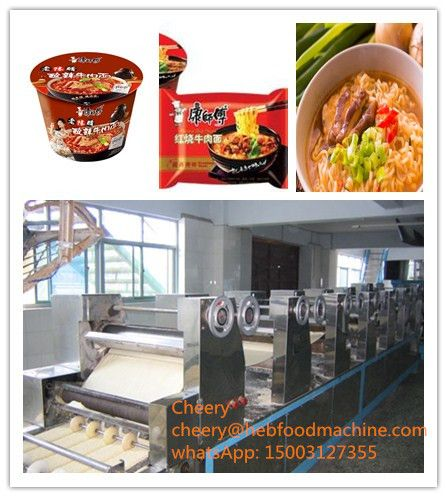 factory customized automatic frying snack food machine