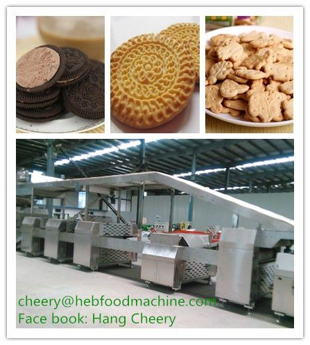 China simple operation hard sandwich biscuit machine