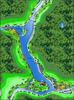 万景趣漂漂流项目规划设计 价格:150000元/项