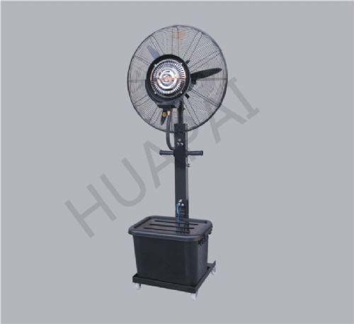 工业喷雾电风扇降温加湿加水雾化升降***