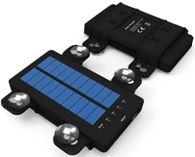 Portable solar powerbank with sucker