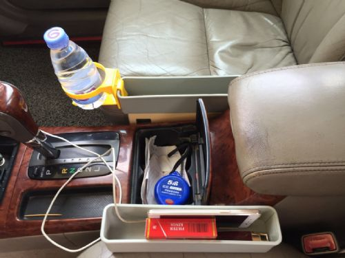 Car seat gap filler console gap filler seat side pocket