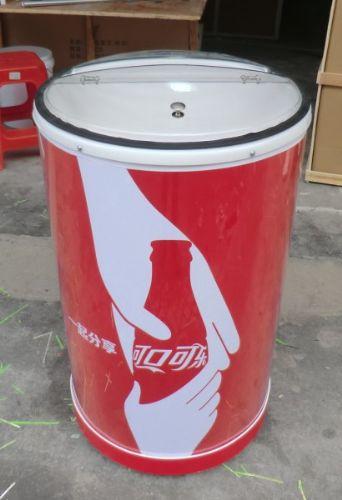 可按客户要求设计,制作其他样式和尺寸             促销广告冰桶产品