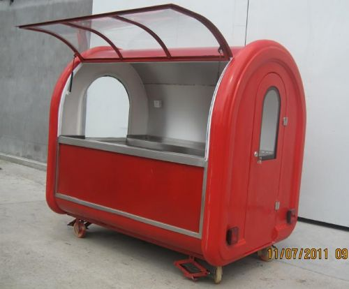 WANDA brand Mobile high quality hamburgers carts food cart