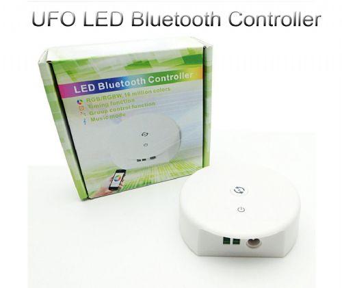 Bluetooth LED RGB UFO Controller DC 12-24V Remote Control