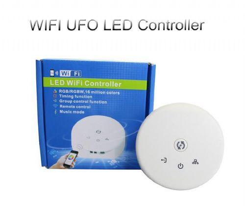 WIFI LED RGB UFO Controller DC 12-24V Remote Control