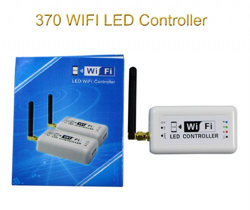 Mini 370 WIFI LED RGB Dimming Full Coloring Controller DC 12-24V