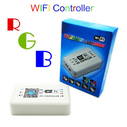RGB WIFI LED Controller DC 12 - 24V Mobile Phone WIFI APP