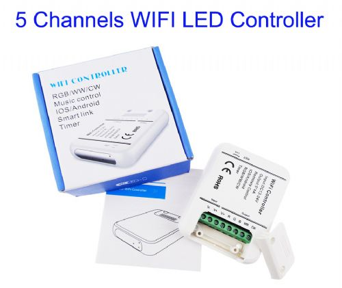 5 Channels WIFI LED RGB Dimming Full Coloring Controller
