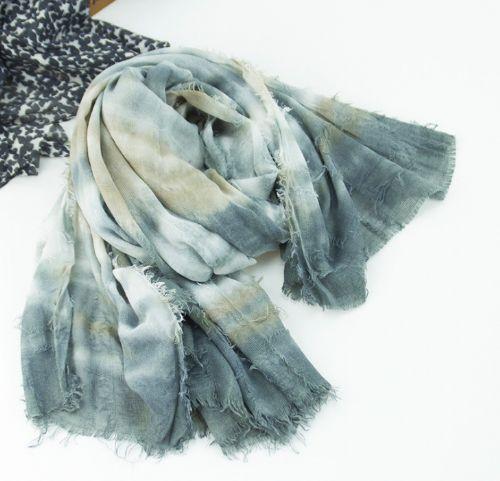 RLJ021-1纯手工扎染围巾 价格:25元