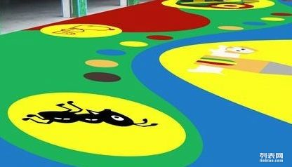 定制户外健身器材滑梯地垫 儿童健身器材区域安全地垫
