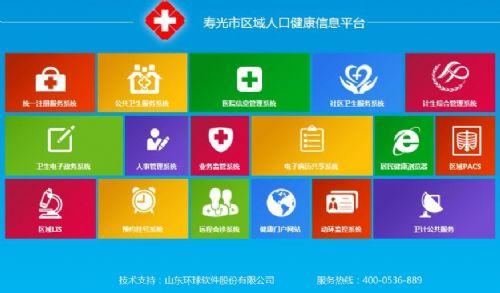 环球软件人口健康信息平台  为卫生事业发展保驾护航