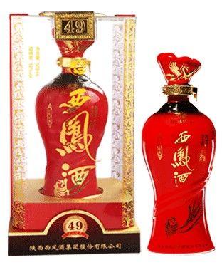红色经典西凤酒西安红色经典西凤酒49年营销 价格:488元/瓶