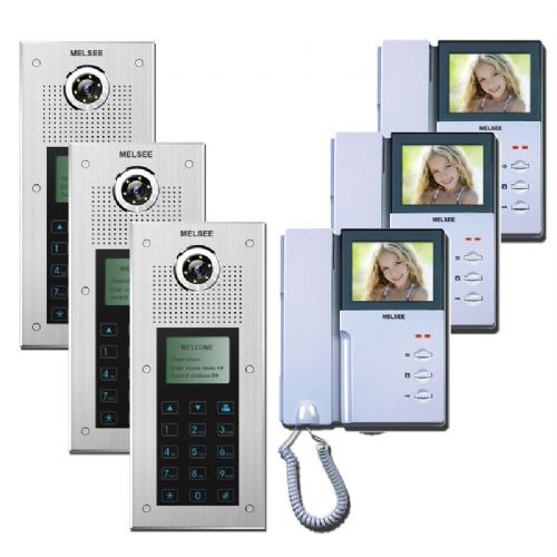 Melsee Audio And Video Door Entry Systems 36 Apartments