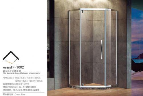 浩湟TF1002砖石形淋浴房 价格:1999元/个
