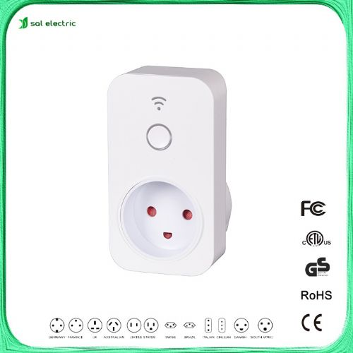Kongeriget Danmark smart plug in wifi timer socket