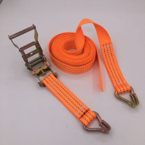 Heavy BHeavy Banded Ratchet Straps Tie-Downs for Trailer