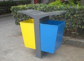 永顺利户外景观分类垃圾桶 高档镀锌环保